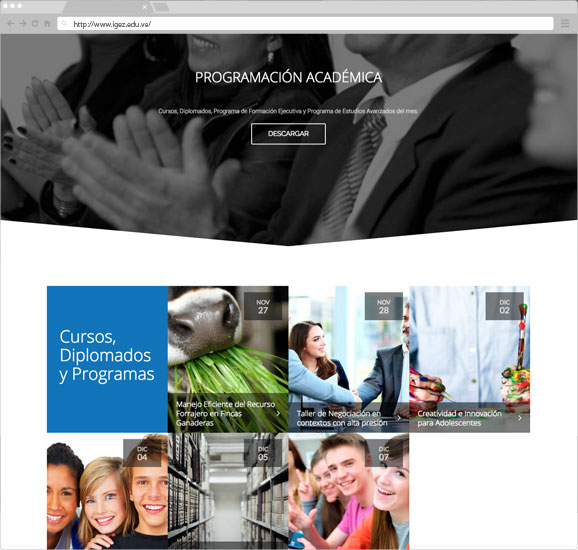 diseño-web-instituciones-edu-latinoamerica-vzla-igez-zuliatec